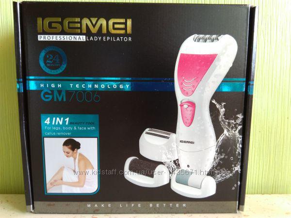 Многофункциональный эпилятор тример 4 в 1 Gemei GM 7006