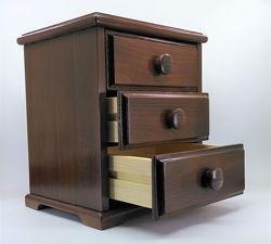 Мини комод, органайзер для косметики, драгоценностей  и прочего, из дерева