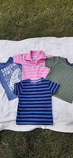 Набор фирменных футболок 3-4 года