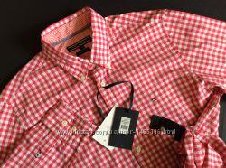Мужская новая рубашка TOMMY HILFIGER оригинал р S, M, L, XL