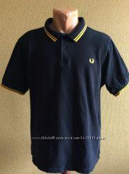 мужская поло футболка FRED PERRY slim fit Португалия оригинал размер S, MXL