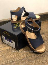 Детские сандалии Polo Ralph Lauren, кожа, размер 25 EU