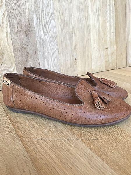 Мокасины туфли лодочки Pikolinos кожа натуральная новые р.36