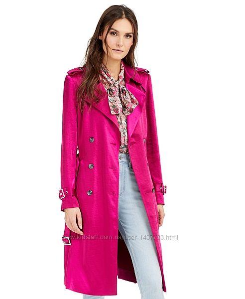 Плащ, пальто, тренч металлик INC International Concepts из США