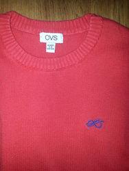 Свитер джемпер OVS 98-104 красный