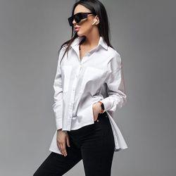 Рубашка Вайс поплин белая