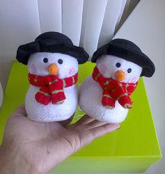 Забавные тёплые тапочки в Рождественском стиле 21&9222 р - 13&9213, 5 см