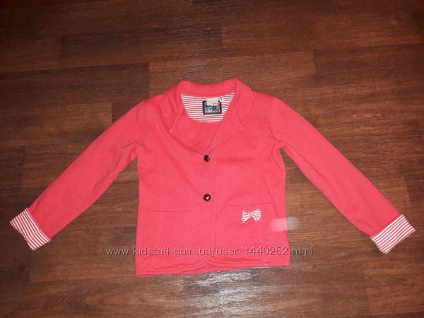 Стильный пиджак Blue seven девочке на 128-134см