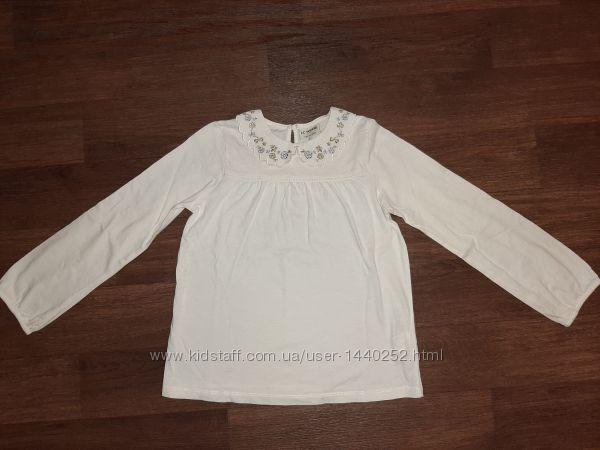 Блуза молочная , LC Waikiki , на рост 134-140 см