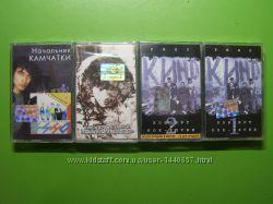 Нові аудіокасети  з записом Кино 4 штуки
