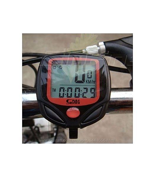 Компьютер велосипедный, 14 функций