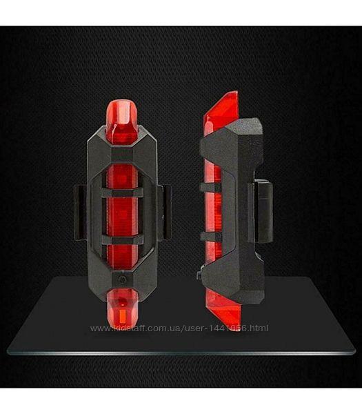 Мигалка велосипедная LED USB, 2 модели