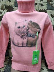 Гольф свитер фирмы many&many для девочки.
