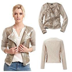 Стильный пиджак жакет с паетками 38р евро 44- 46р наш Tcm Tchibo Германия