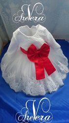 Нарядное детское платье на годик год дочку праздничное свадьбу вечернее