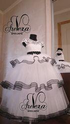 Нарядное детское подростковое платье свадьбу выпускной праздничное вечернее