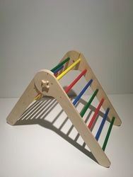 Треугольник Пиклера. Детская лесенка. Детский спортивный уголок.75 см