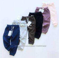 Спортивные штаны трикотажные, р. 104-116, цвета в ассортименте