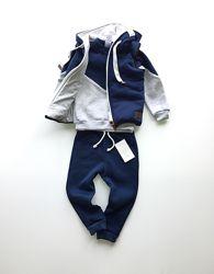 Комплект костюм и жилет для мальчика или девочки, р. 80-128