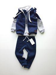 Комплект костюм и жилет для мальчика или девочки, р. 104-116