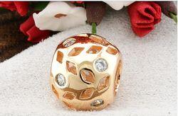 Кулон-шарм позолота для для цепочек браслетов