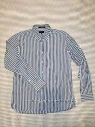 Мужская рубашка с длинным рукавом GANT р-р М.