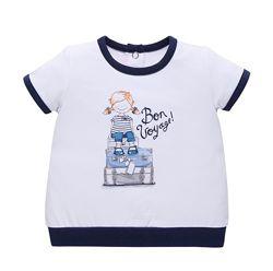 Летние футболки Chicco для девочек р. 62/68