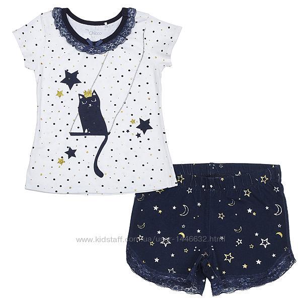 Пижама для девочек Chicco р. 74-122см
