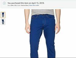 джинсовые брюки Calvin Klein 33Х32