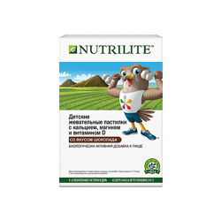 NUTRILITE&trade Детские жевательные пастилки с кальцием, магнием и витамином D