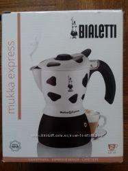 Гейзерная кофеварка BIALETTI Mukka Express  2 cups