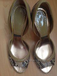 Туфли Ferre 41 размер оригинал кожа змеи