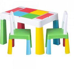 столик и 2 стульчика Tega Multifun  для игры и для письма