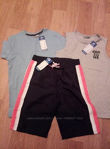 Набор новых летних вещей для мальчика , рост 146-152