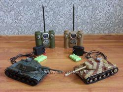 Танковый бой радиоуправляемый ИС-2