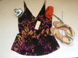 Новая фирменная стильная блуза в бельевом стиле Papaya, размер s