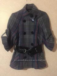 Фирменное качественное пальто дорогого бренда favori, размер м, турция