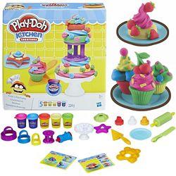 Play-Doh Frost n Fun Cakes Набор для выпечки Оригинал