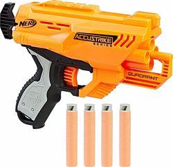 Бластер Nerf Elite Quadrant четырехтактный револьверного типа оригинал
