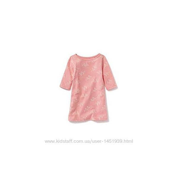 Old Navy легкое платье розовое