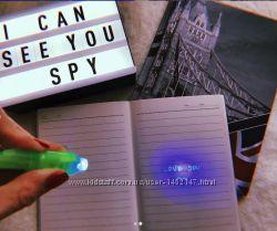 Шпигунська ручка шпигуна - ручка з невидимими чорнилами ручка шпиона шпион