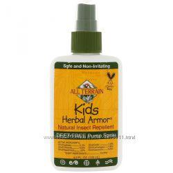 Растительное защитное средство для детей от насекомых, 120 мл, All Terrain