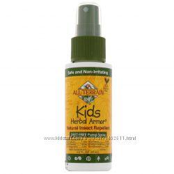 Растительное защитное средство от насекомых для детей, 60 мл, All Terrain