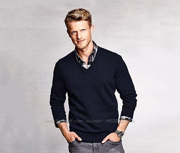 Пуловер свитер хлопковый Тсhibo 48-50, M весна-осень