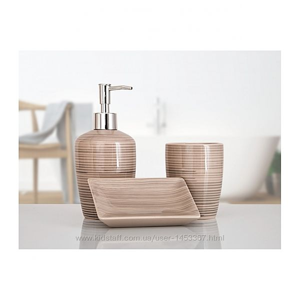 Комплект в ванную Irya - Lovita gri  3 предмета