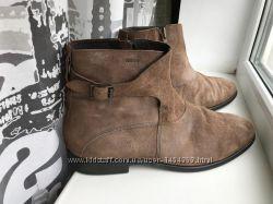 Мега стильные ботинки от geox пр-во италия