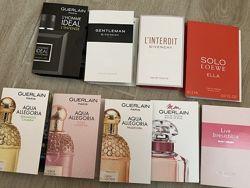 Пробники парфюмерии Guerlain, Givenchy, Loewe