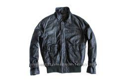 Кожаная мужская куртка. Размер 50