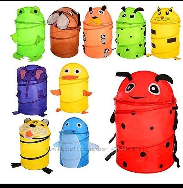 Все цвета Корзина для игрушек, корзинка детская, корзина для іграшок
