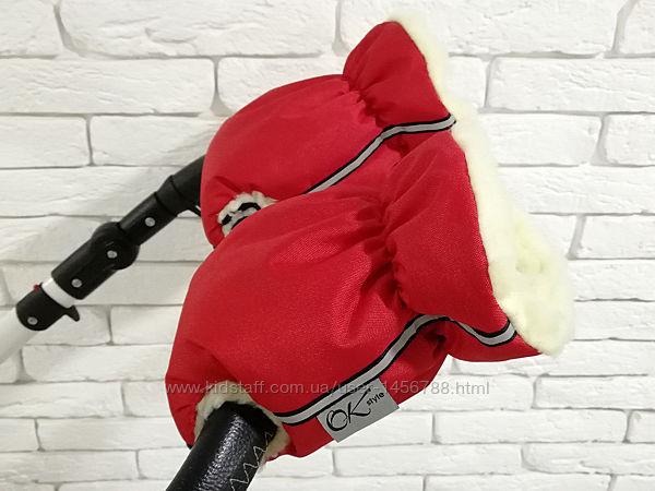 Муфта, рукавички, муфты на коляску Ok Style New на санки, велосипед